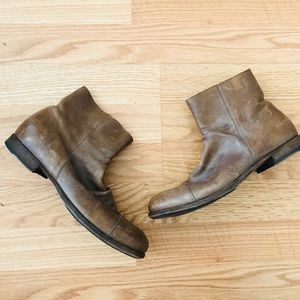 Women's Real Leather Chelsea-type Hippie Boots!!